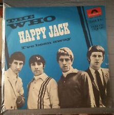 The Who ‎– Happy Jack / I've Been Away 45 giri Italian issue  1966 Polydor ‎