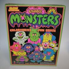 Lovable Monsters Colorforms Fun House 4202 Nib Sealed 1986