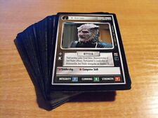 STAR TREK CCG DOMINION COMPLETE COMMON SET OF 40 CARDS