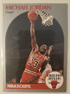 1990-91 NBA Hoops Basketball MICHAEL JORDAN Chicago Bulls #65 🔥🔥🏀🏀