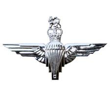 THE PARACHUTE REGIMENT PARA REG SILVER CAP BADGE BRITISH ARMY GENUINE MOD NSN