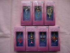 Little Charm 3  Sailor Moon  Miniature Toy Mascot 7pc Full set from Japan Bandai