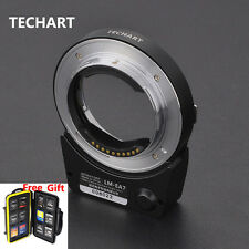 5.0 TECHART LM-EA7II Auto Foucus Adapter LeicaM LM lens to SonyA7II A6300 A6500