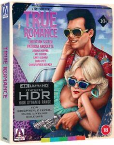 True Romance Limited Edition New 4K Ultra HD Region B Blu-ray + Booklet