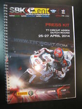 Press Kit FIM Superbike WC Dutch Round 25-27 april 2014 TT Circuit Assen boek