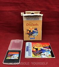 THE OTTIFANTS - USED - GAME GEAR - BOXED WITH MANUAL - NO INLAY - UK