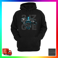 2JZ GTE JDM Unofficial Tribute Hoodie Hoody Inspired Turbo Engine Supra Chaser