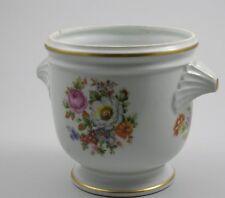 Limoges Frankreich Blumentopf Cachepot Blumen R. Bonhomme Porcelaine d'Art