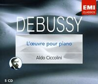 C. Debussy - Works for Piano [New CD] Boxed Set