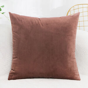 Velvet Cushion Cover Sofa Pillow Cover Pillowcase Simple Fashion Home Decorative