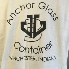 New listing Single Stitch Shirt Vtg S Men Tee Ymca Anchor Glass 1994 2 Sided Made Usa Large
