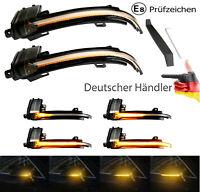 2x Dynamische Spiegelblinker Lauf Blinker Audi A3 8P A4 S4 A5 S5 B8 8K A6 4F Q3