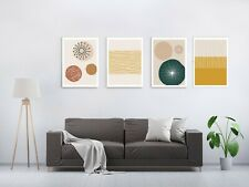 Minimalist Contemporary Abstract Nordic Canvas Print Picture Wall Art Decor