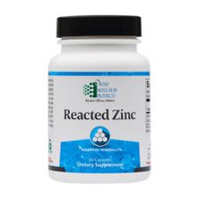 Ortho Molecular Products - Reacted Zinc 60 capsules -  Zinc Immune Support 4/22