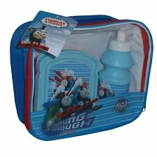 Thomas the Tank Engine 3 Piece Lunch Bag with Flask and Sandwich Box