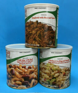 Mountain House Dinner Meal Kit ~ Three #10 Cans Emergency Food ~ The Wise Prep