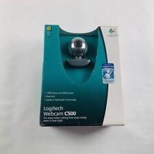 Logitech Webcam C500 Web Cam Brand New