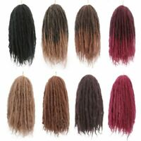 Synthetic Braiding Hair Crochet Extensions Ombre Marley Afro Kinky 18 Inches New