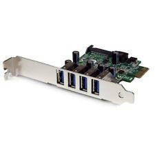Startech.com PEXUSB3S4V 4port Usb 3.0 Pcie Sata Power Ctlr Low Profile