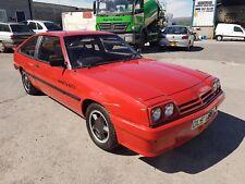 1983 Y Reg Opel Manta 1.8 GTJ Hatchback Great Running Solid Car Fast Road Mods