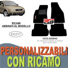 TAPPETI AUTO SU MISURA PER AUDI A4 (B6) MOQUETTE CON FONDO GOMMA + RICAMO EASY