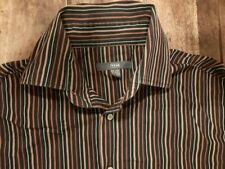 Klassisches Hemd, gestreift, Größe 41/42 (L)