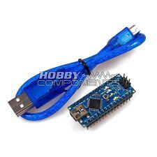 Hobby Components Arduino compatible Nano V3.0 - ATmega328 Mini USB Board + Cable