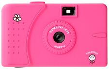 Superheadz Wide & Slim Pink Dress 35mm Camera FREE SHIP+ 3 Rolls Fuji Film