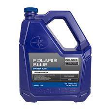 Polaris Blue Synthetic Blend 2-Cycle Oil, For Polaris 2-Stroke Snowmobiles (Fits: Polaris)