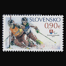 Slovakia 2014 - 11th Winter Paralympic Games Sochi - Sc 681 MNH