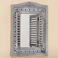 teakholz spiegel 150 cm x 80 cm holzspiegel teak ebay. Black Bedroom Furniture Sets. Home Design Ideas