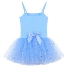 Child Girls Ballet Leotard Dress Gymnastics Dance Wear Ballerina Dresses Costume