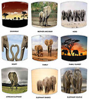 Lampshades Ideal To Match Elephant Cushions Elephant Duvet & Elephant Wallpaper
