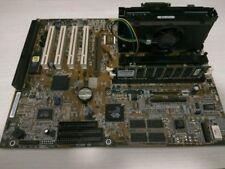 Asus P28-VE Motherboard+ intel Pentium III 500 mhz+disipador+128 mb ram dimm