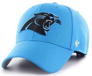Carolina Panthers NFL '47 MVP Glacier Blue Hat Cap Adult Men's Adjustable