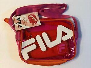 FILA KATHY MESSENGER TINTED CROSSBODY BAG PURSE W COIN POUCH $35 Retail
