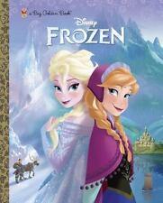 Big Golden Book Ser.: Frozen Big Golden Book (Disney Frozen) by RH Disney Staff (2013, Picture Book)
