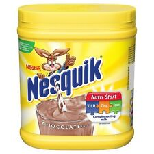 NESQUIK CHOCOLATE FLAVOUR MILKSHAKE POWDER...BIG 500G TUB!