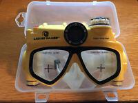 Maschera subaquea Liquid Image Explorer Series 5Mpx gialla