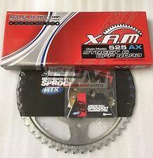 2002 - 2014 Hyosung GT650 Comet XAM x ring chain & MTX steel sprocket kit 15/44