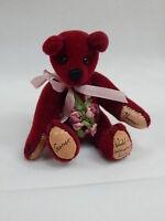 "World of Miniature Bears 2.5"" Plush Birthday Bear January #588 Collectible Bear"