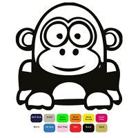 Cartoon Gorilla Iron On T-Shirt Clothes Heat Transfer Vinyl HTV Sticker