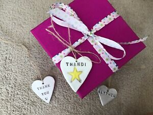 Personalised Christmas Tree Decoration Bauble Place Setting Gift Label Handmade