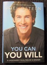2014 YOU CAN YOU WILL by Joel Osteen HC/DJ VF/FN 1st Faith Words