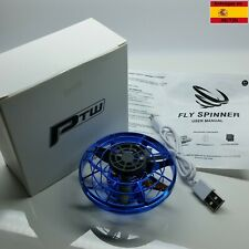 Spinner volador Flying Spinner Tornado ciclón mini drone Gyro dron led elices