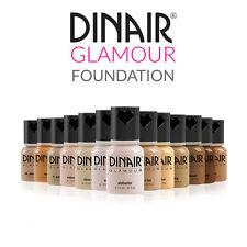 Dinair Airbrush Makeup Glamour FOUNDATION: Fair, Medium, Tan Dark Choose Color!