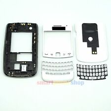 New Full Housing Cover + Frame + Keypad For Blackberry Curve 9360 #White