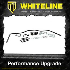 Whiteline 20mm Rear Sway Bar for Holden Colorado RG 2WD 4WD 4CYL 6/2012-ON