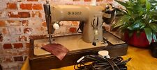 Vintage Singer 191B Electric Sewing Machine SB025597 Serviced Leather Video Work