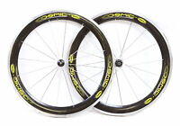 Mavic Cosmic Carbone Road Bike Wheelset 650c Tubular 10 Speed Carbon Fiber